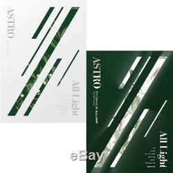 ASTRO ALL LIGHT 1st Album 2Ver SET+POSTER+2PhotoBook+2Post Card Set+10Card+etc