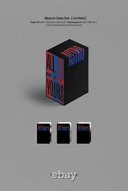 ASTRO ALL YOURS 2nd Album LIMITED 3Ver SET 3 CD+POSTER+3 Photo Book+12 Card+GIFT
