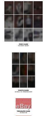 ATEEZ TREASURE EP. FINALL TO ACTION Album 2 Ver SET+POSTER+2Book+30Card+etc+GIFT