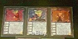 Ani-mayhem DBZ FOILS ALL 5 ULTRA RARE CARDS RARE SET