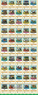 Animal Crossing NEW Leaf amiibo + card all 50 types Complete set NEW