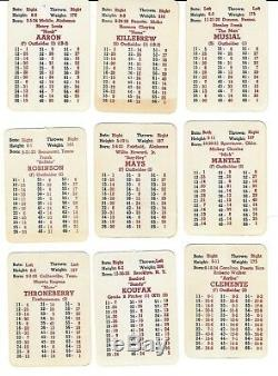 Apba Baseball Complete 1962 Set Of Player Cards, (all 400 Pieces)