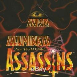 Assassins 50 ALL Common Set with Custom Box Illuminati INWO Card Game TRUMP