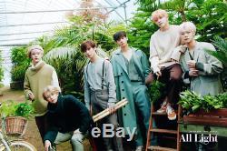 Astro-All Light 1st Album 2 Ver SET CD+Book+Post+Card+Lyric+etc+Gift