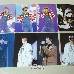 BTS 3rd Muster Army Zip Official DVD Photo card All Set 8pcs Rare