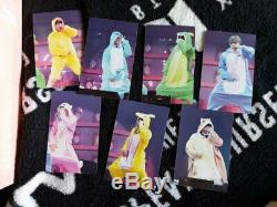 BTS 4th Muster Happy Ever After Official DVD Photo card All Set 7pcs Rare