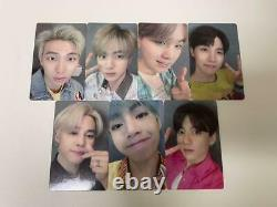 BTS Lights Boy With Luv Official Photo Card All 7 Set FC Limited Japan