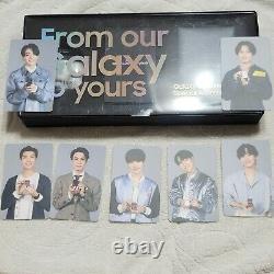 BTS SAMSUNG Galaxy Buds Live Photo Card Set + Message Card full set