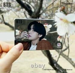 BTS X CU Tmoney T money Official Mirror Photo Card Limited Rare
