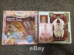 Bandai 1999 Card Captor Sakura All Clow Card Set Case Game Card Key Japan USED