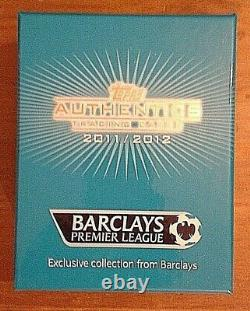Barclays Topps Authentics 2011/2012 Exclusive Original Box Full Set All 10 Packs