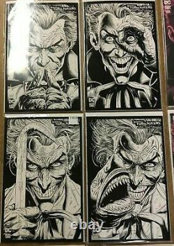 Batman Three 3 Jokers Complete Set 1450, All Variants, Posters, Cards, MORE