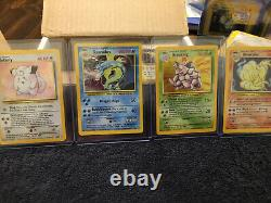 COMPLETE BASE SET Holos+Pokemon Cards ALL 102 Cards Wizards Of The Coast 1999