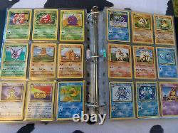 COMPLETE Original Pokemon Card Set 151/150 + Pikachu Set + All Unowns. 3 1st Eds