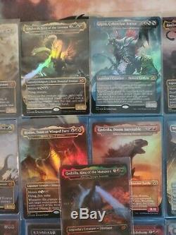 COMPLETE SET English of All 19 Godzilla Cards FOIL MTG IKO Ikoria NM / MINT