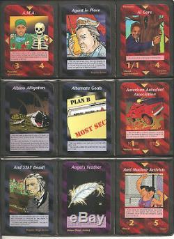COMPLETE Set All 409 UNLIMITED Illuminati INWO Card Game 1995 NUKE EPIDEMIC