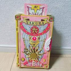 Card Captor Sakura Bandai All Sakura Card Set Magic Book & 53 Cards USED No BOX