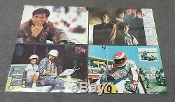 Chow Yun-Fat All About Ah Long Sylvia Chan 1989 Original Set of 12 Lobby Cards