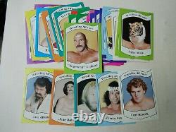 Clean 1983 36 Card Wrestling All Stars Complete Set Graham Snuka Studd Albano