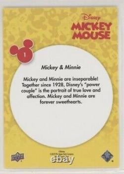Complete 2020 Upper Deck Mickey Mouse Set 180 Cards Includes All 90 #d SPs