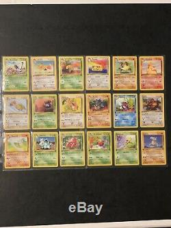 Complete Full 1st Edition Jungle Set All # 64/64 Pokemon Trading Cards