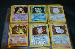Complete Full! All of The Base Set 2 130/130 Pokemon Trading Cards TCG WOTC