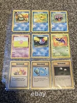 Complete Gem Mint Fossil Set 47/62 Pokemon Card Collection All Non Holos PSA 9+