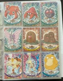 Complete Pokemon 1999 Topps Series One Set All Cards Included/Shown All Cards MT