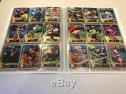 Complete Set ALL 90 Mario Sports Superstars Amiibo Cards Collectors Album
