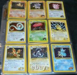 Complete Set of Gym Heroes All # 132/132 Pokemon Trading Cards TCG WOTC