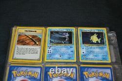 Complete Set of Neo Revelation All 66/64 Pokemon Trading Cards Including Secrets