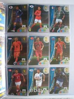 Complete set All 416 PANINI Adrenalyn Card FIFA World Cup Brazil 2014 RARE