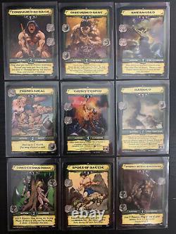 Conan CCG TCG Core Set ALL 45 CARD NONFOIL RARE SET LOT Image Comics 2006