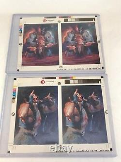 DC MASTER SERIES Skybox Uncut PROOF TEST Spectra Chase Card Set (all 10 Sides)