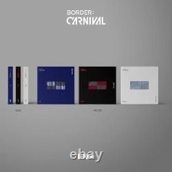 ENHYPEN BORDERCARNIVAL Album 3 Ver SET CD+Poster+Photo Book+Card+etc All pack