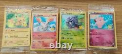 English Pokemon GAME 20th Anniversary Complete set ALL SEALED 8 card Generations