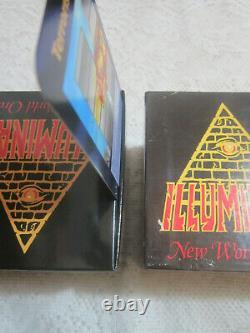 FACTORY SET 1995 INWO Card Game ILLUMINATI WARNING ALL FAKES FROM ASIA