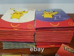 FULL SET 2021 McDonalds Pokemon 25th Anniversary All 50 Cards HOLO + 40 packs