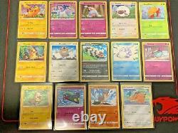 Full Set! General Mills Pokemon 25th All 14 Cards incl. Ponyta, Pikachu