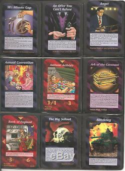Full Set Unlimited ALL 409 ILLUMINATI INWO Card Game 1995 NUKE