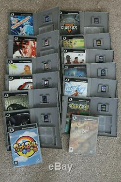 Gizmondo Smart Adds + Complete Set of All 14 Games + Case + SD Card Bundle