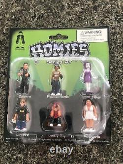Homies Series 7 Set NEW on Card From 2003 All 4 Blisters WOW