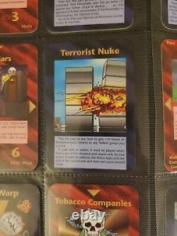 ILLUMINATI New World Order Complete FULL LIMITED SET All 412 Cards Promos +BONUS