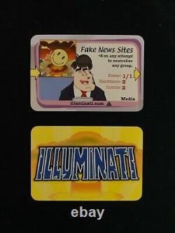 ILLUMINATI New World Order Complete LIMITED COMMON SET All 200 Cards INWO +BONUS