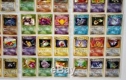 Japanese Team Rocket Rare Out of Print Complete 65 Card Set + Binder All Holos