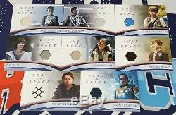 Lost in Space Season 1 173 Card Master Set All Packed Autograph & Relic Cards