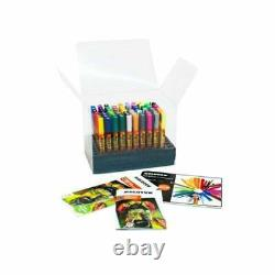 MOLOTOW ONE4ALL 127HS MARKERS FULL SET 70 x PAINT MARKER PENS IN CARD STAND