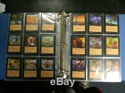 MTG Magic The Gathering Complete Set Of Mirage All 350 Cards Very Good-Excellent