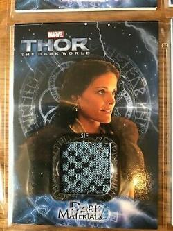 Marvel Thor The Dark World Costume Card Set DM1 to DM9 All 9 Cards