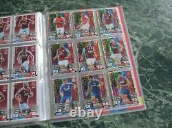 Match Attax 2014/15 14/15 2014/2015 100% Complete Binder Set ALL 459/459 Cards